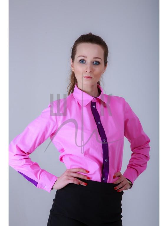 Блузка женская цвет розовый
