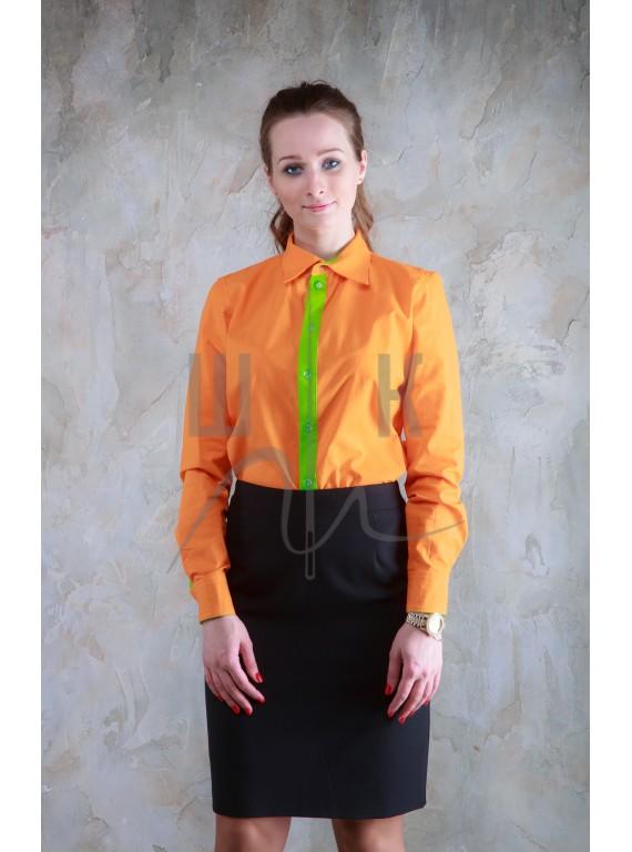 Блузка артикул Б-о/нз-х100, цвет оранж