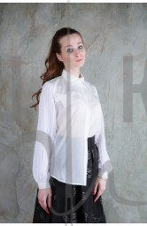 Блузка женская цвет белый ББ-3