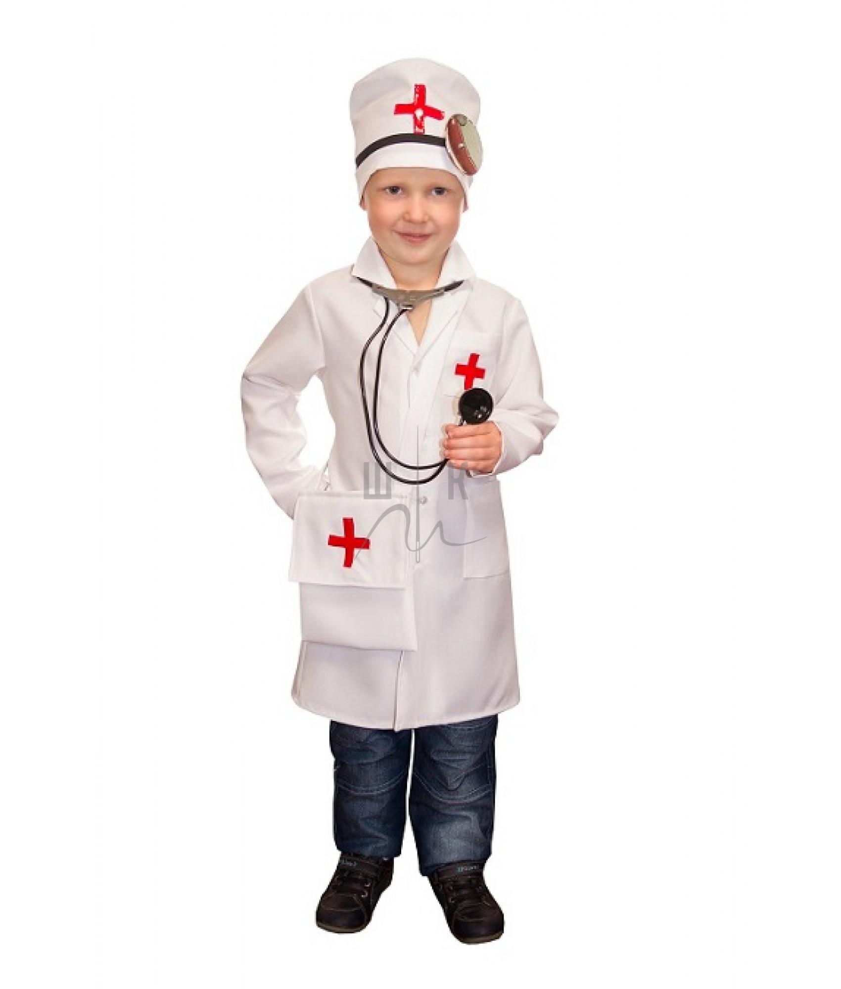 Как сделать детский халат доктора