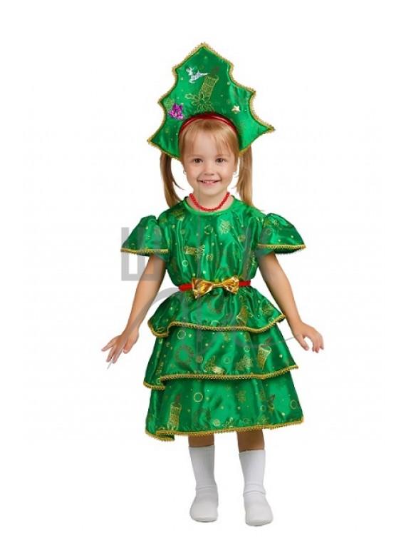 Детский Карнавальный костюм  Елочка-3  рр 28, 32