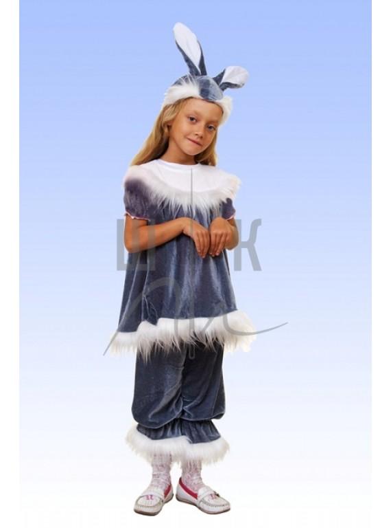 Детский Карнавальный костюм Зайчиха  р.28, 32