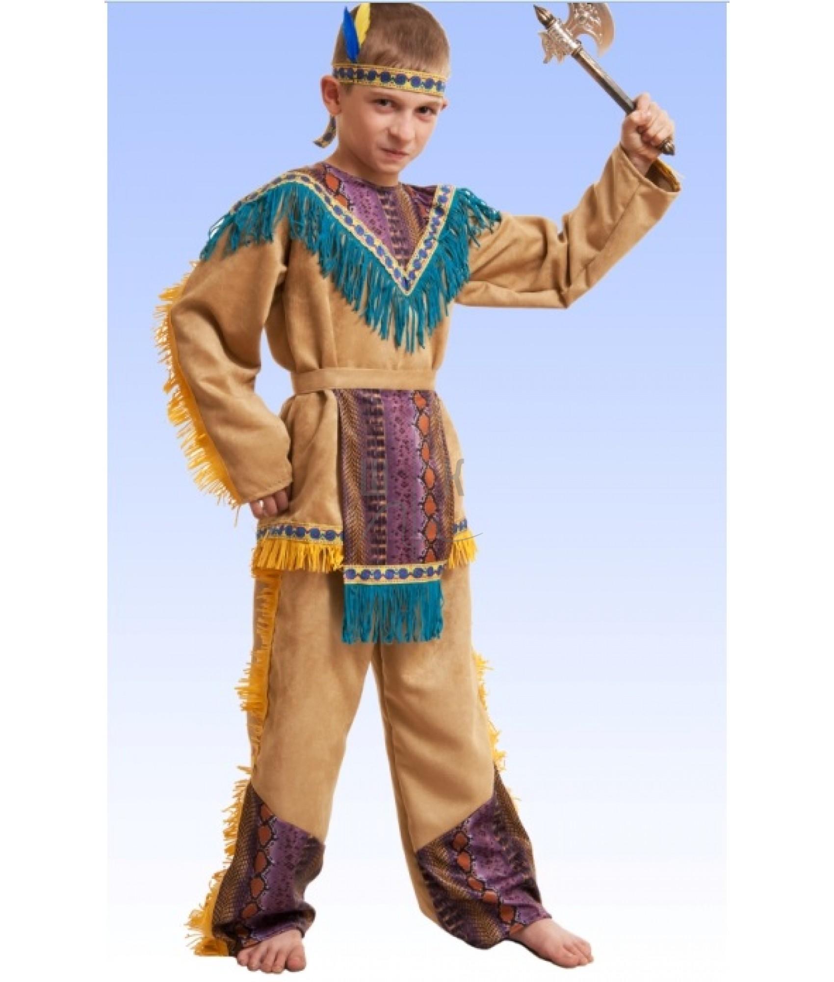 Как сделать костюм индейца своими руками из подручных материалов 79