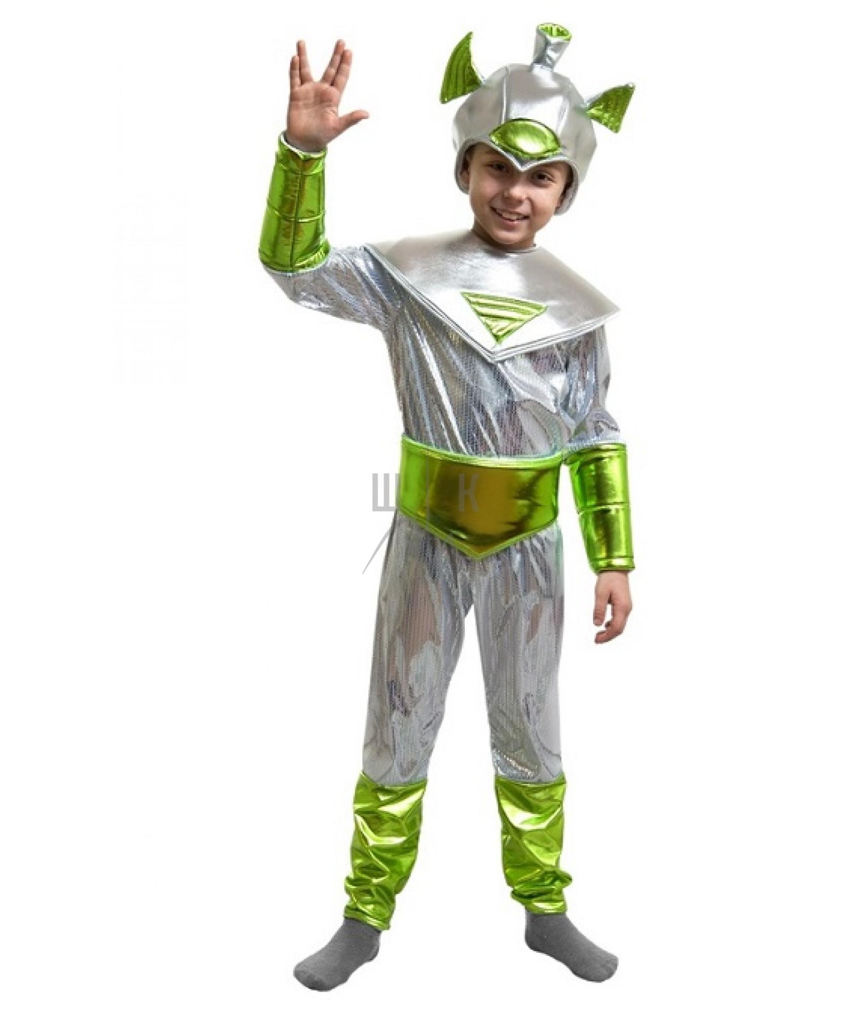 Выкройка костюма инопланетянина своими руками с размерами