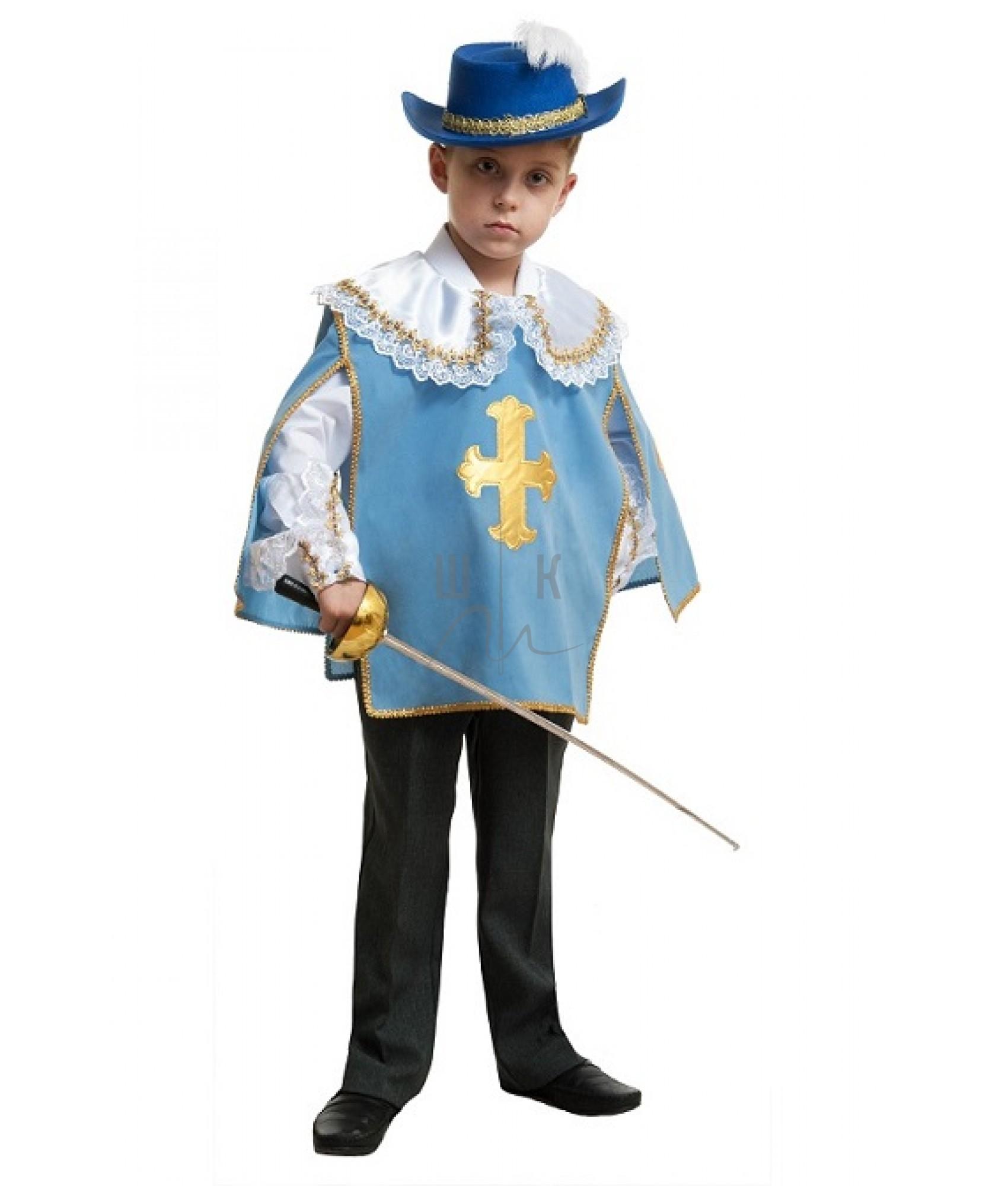 Мушкетер короля новогодний костюм для мальчика  Прокат
