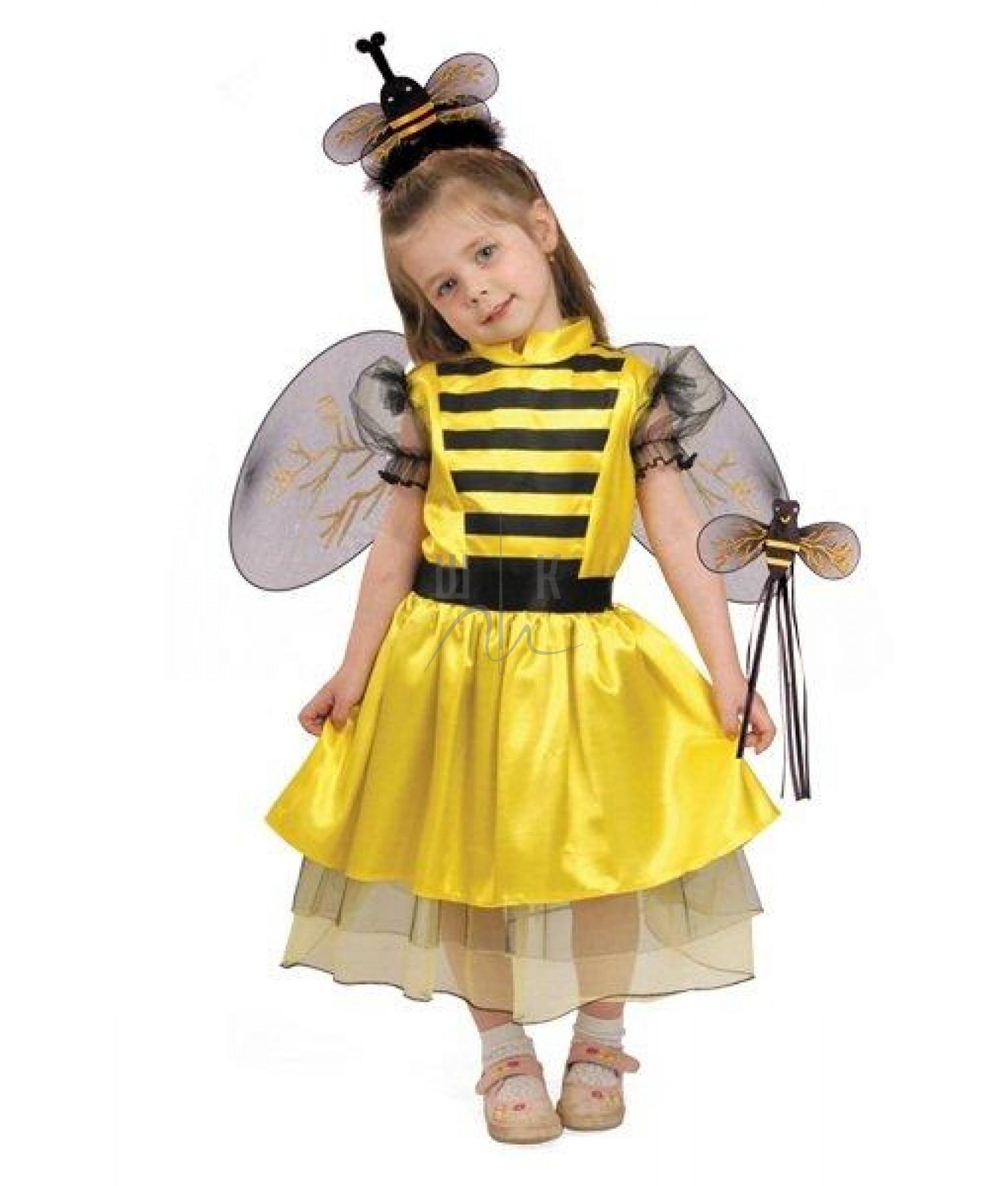 Новогодние костюмы для девочек пчелка своими руками из