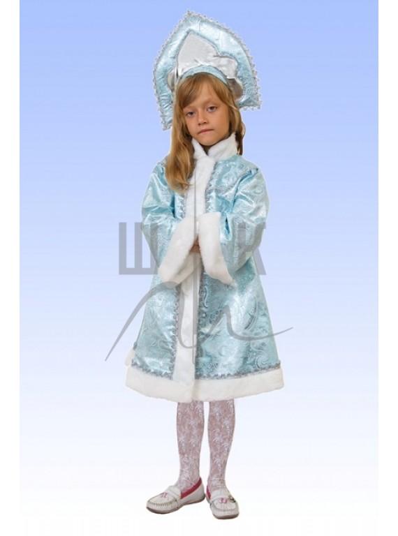 Детский Карнавальный костюм Снегурочка девочка-1  р.30