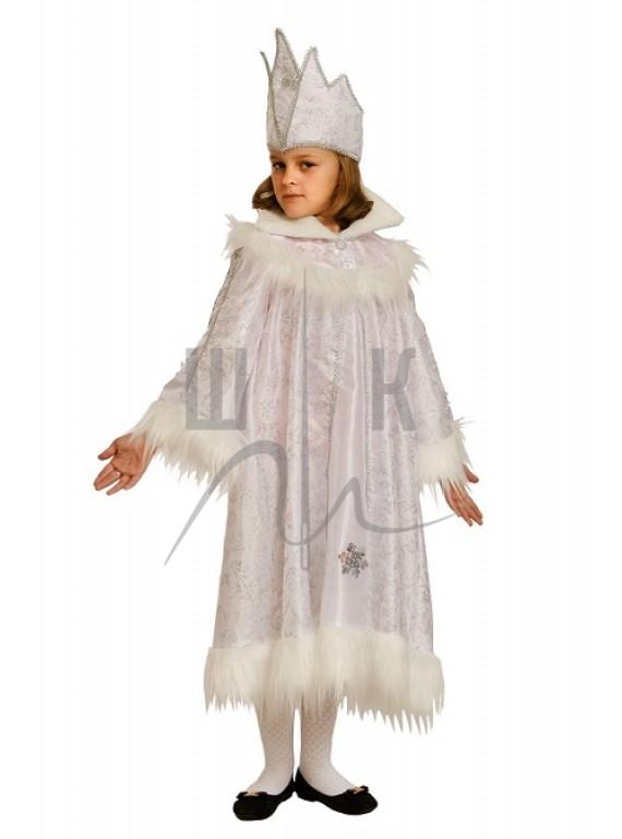 Детский Карнавальный костюм Снежная королева  №2 р. 30, 34
