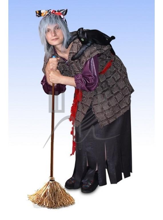 Взрослый карнавальный костюм Баба Яга  р.50