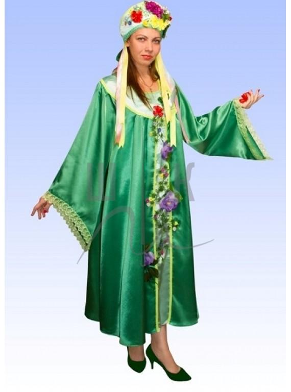 Взрослый карнавальный костюм Весна р.54