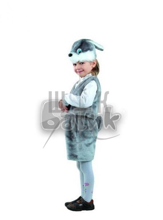 Детский  Карнавальный костюм, маскарадный костюм Заяц серый 28р