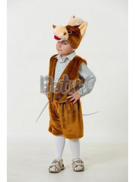 Детский  Карнавальный костюм, маскарадный костюм Коник Жорик 28р