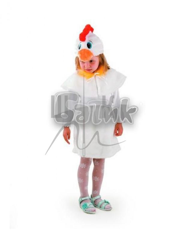 Детский  Карнавальный костюм, маскарадный костюм Курочка 28р