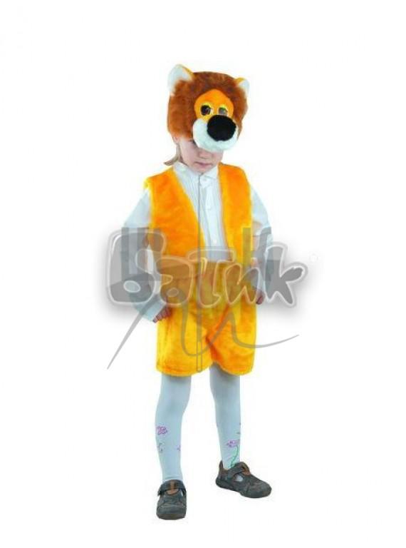 Детский  Карнавальный костюм, маскарадный костюм Лев 28р