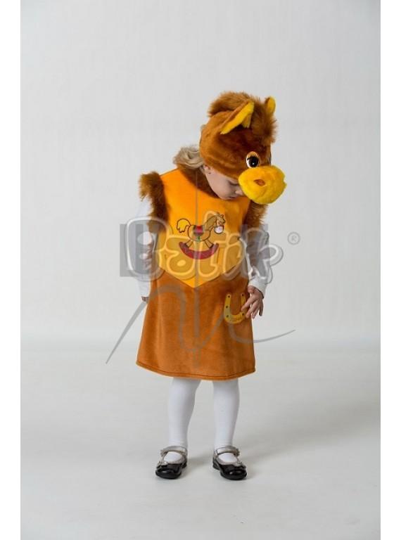 Детский  Карнавальный костюм, маскарадный костюм Лошадка Маруся 28р