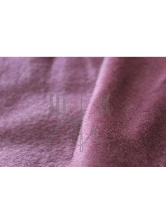 Шерсть пальтовая костюмная слива