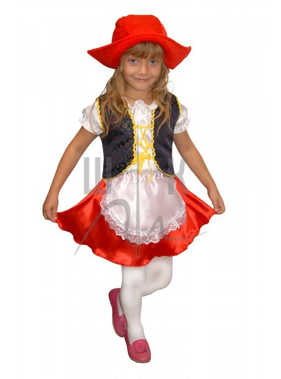 Аренда детского костюма Красная Шапочка