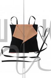 корсетный пояс жилет, двухсторонний, бежевый бренда OLGA KOLB
